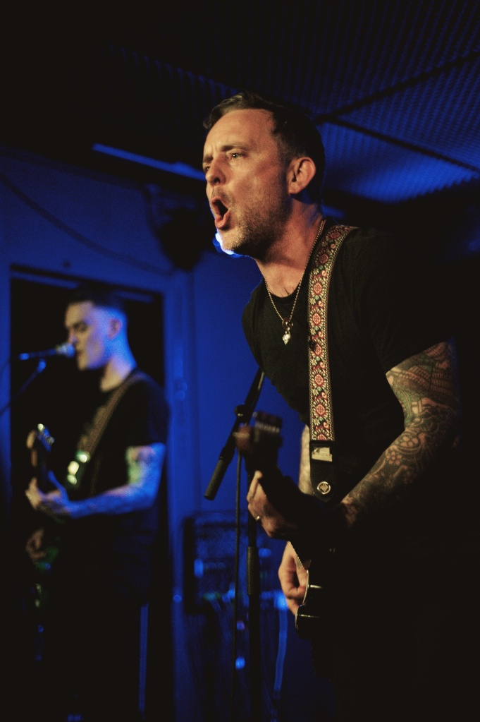 Dave Hause & The Mermaid live in The Workmans Club, Dublin