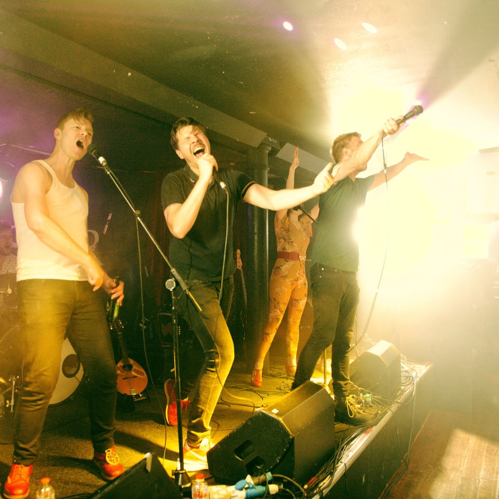 Skinny Lister live in The Academy, Dublin